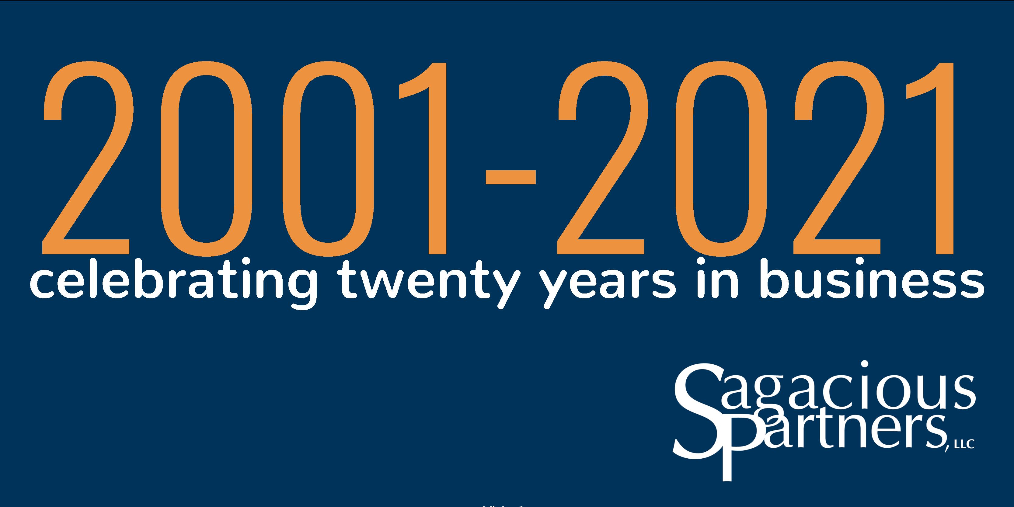 Celebrating 20 Years: Part I